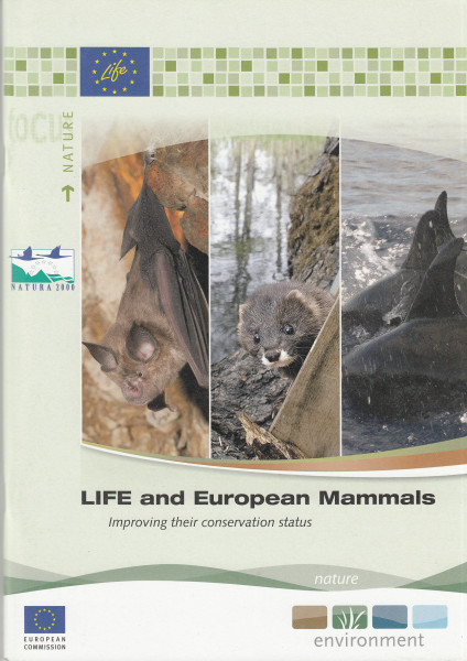 LIFE and European Mammals. Improving their conservation status