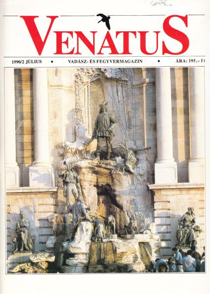 Venatus. Vadász- és fegyvermagazin: 1990/2