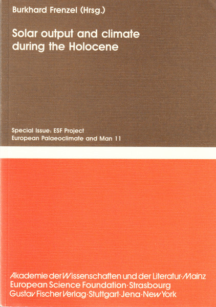 Solar output and climate during the Holocene