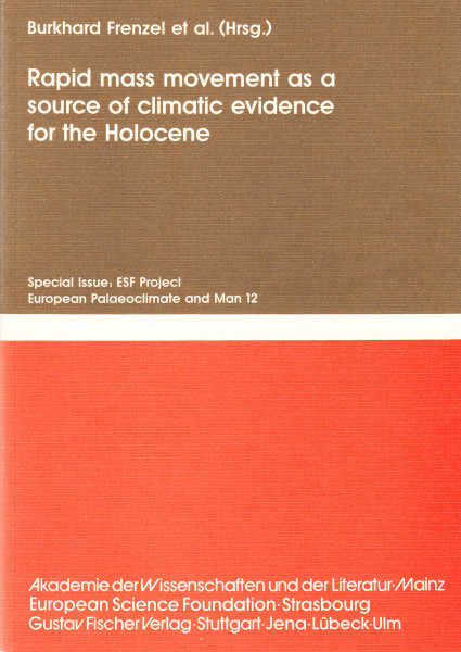Rapid mass movement as a source of climatic evidence for he Holocene