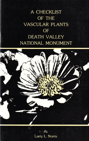 A Checklist of the Vascular Plants of Death Valley National Monument