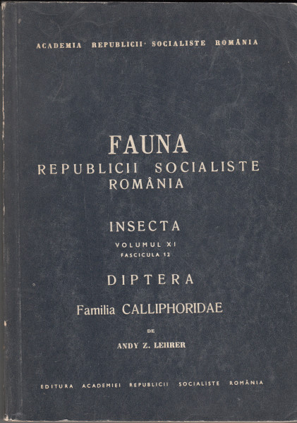 Insecta. Diptera. Familia Calliphoridae