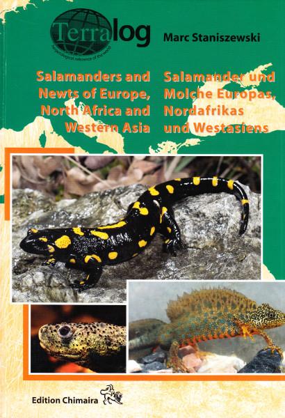 Salamanders and Newts of Europe, North Africa and Western Asia = Salamander und Molche Europas, Nordafrikas und Westasiens