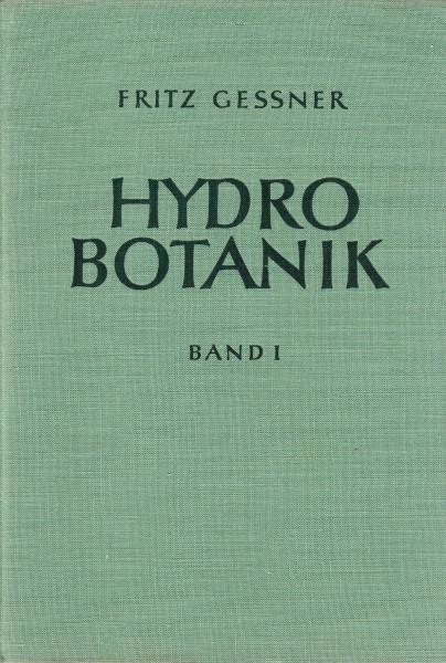 Hydrobotanik I-II.