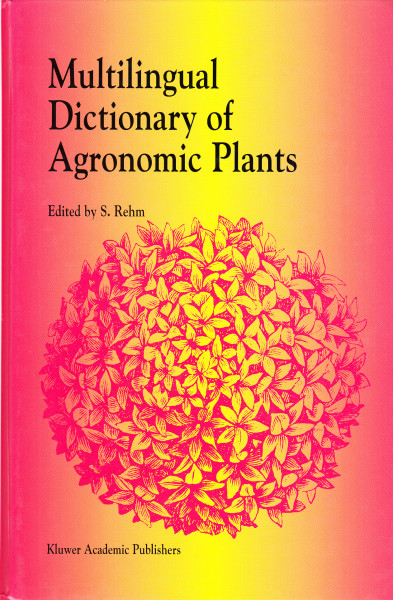 Multilingual Dictionary of Agronomic Plants