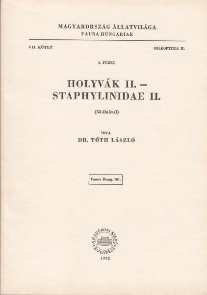 Holyvák II. - Staphylinidae II.