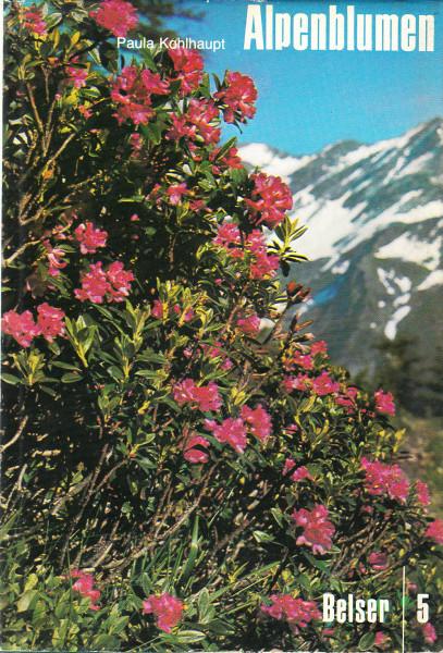 Alpenblumen. Farbige Wunder. Band 1. Alpenblumen in ihrer Umwelt und Volksleben