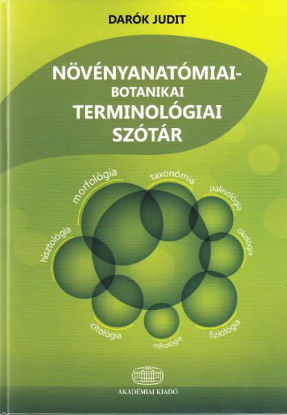 Növényanatómiai-botanikai terminológiai szótár