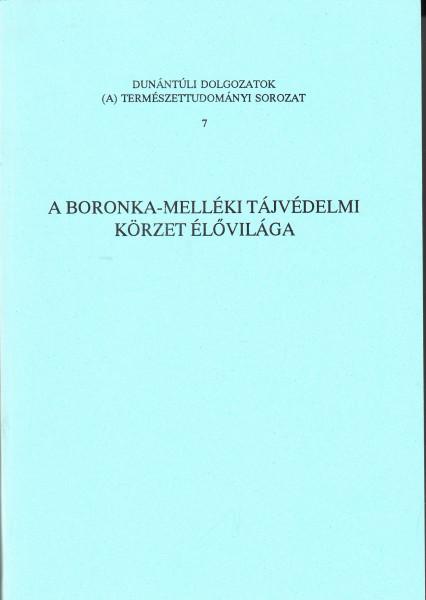 A Boronka-melléki Tájvédelmi Körzet élővilága