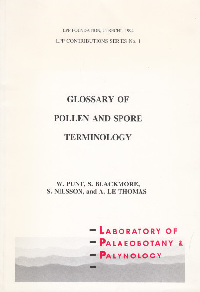 Glossary of Pollen and Spore Terminology