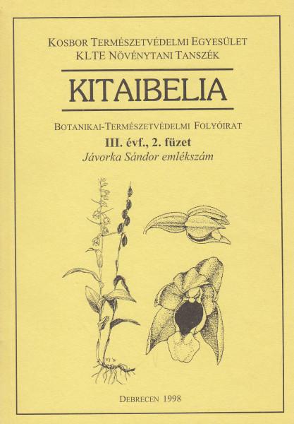 Kitaibelia: 1.(1996)-14.(2009)1., kivéve 2.(1997)2.
