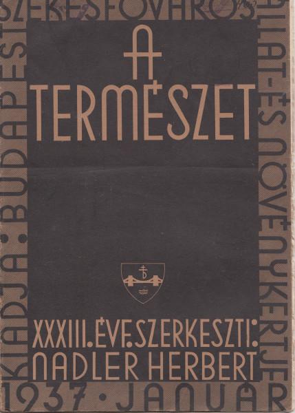 A Természet: 33.(1937)