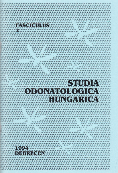 Studia odonatologica Hungarica: 2.(1994)-19.(2017)