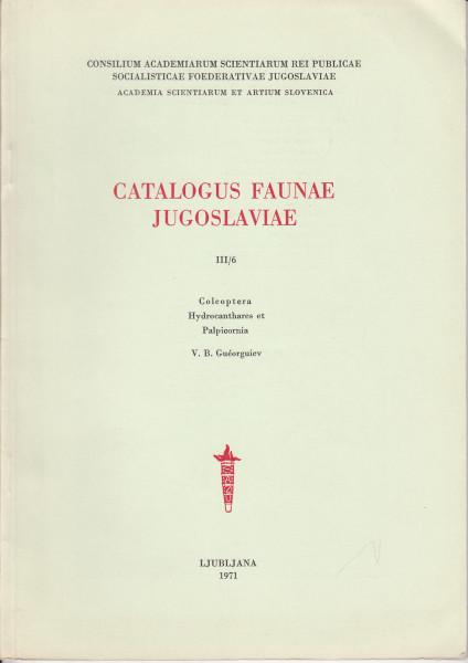 Coleoptera. Hydrocanthares et Palpicornia