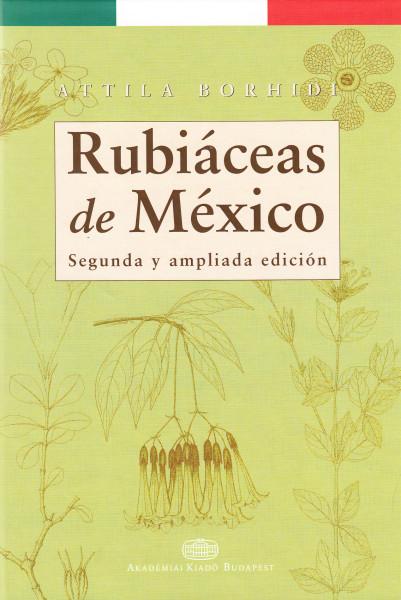 Rubiáceas de México. Segunda y ampliada edición