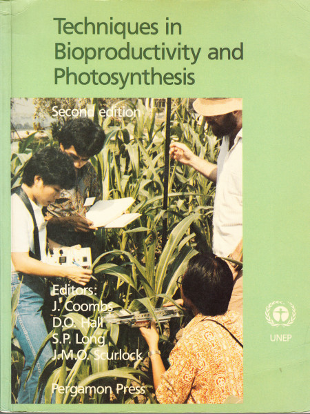 Techniques in Bioproductivity and Photosynthesis