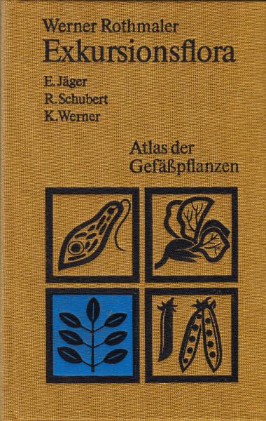 Exkursionsflora für die Gebiete der DDR und der BRD. Band 3. Atlas der Gefässpflanzen
