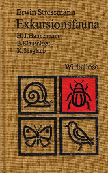 Exkursionsfauna für die Gebiete der DDR und der BRD. Band 2/1. Wirbellose. Insekten - Erster Teil